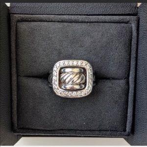 David Yurman Jewelry - $1750 David Yurman Diamond Buckle Ring-.50carats💎